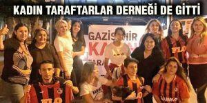 KADIN TARAFTARLAR DERNEĞİ DE GİTTİ
