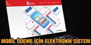 Mobil ödeme için elektronik sistem