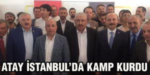 Atay İstanbul'da kamp kurdu