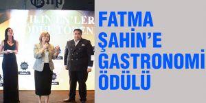 Fatma Şahin'e gastronomi ödülü