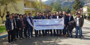 Öğrencilerden teknik gezi