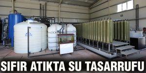 Sıfır atıkta su tasarrufu