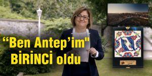 """Ben Antep'im"""" tanıtım filmine ödül"""