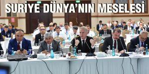 Suriye Dünya'nın meselesi