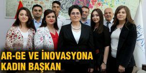 AR-GE ve İnovasyona kadın başkan