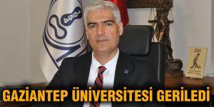 Gaziantep Üniversitesi geriledi