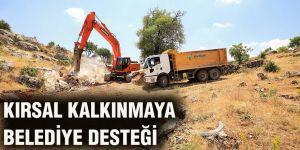 Kırsal kalkınmaya belediye desteği
