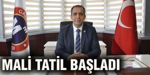 MALİ TATİL BAŞLADI