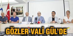 GÖZLER VALİ GÜL'DE