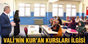 Vali'nin Kur'an kursları ilgisi