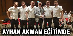 Ayhan Akman eğitimde