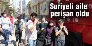 Suriyeli aile perişan oldu