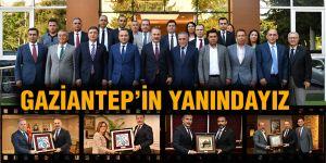 Gaziantep'in yanındayız