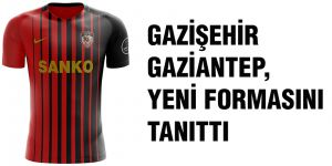 Gazişehir Gaziantep, yeni formasını tanıttı