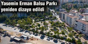 Yasemin Erman Balsu Parkı yeniden dizayn edildi