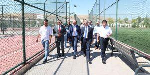 Tenis Federasyonundan Şahinbey'e destek