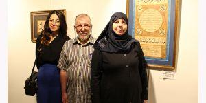 Suriyeli sanatçı ilk sergisini açtı