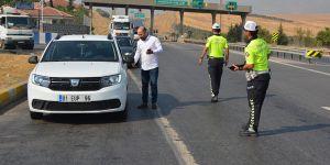 Polisten yol denetimi