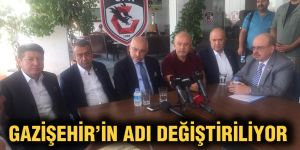 Gazişehir'in adı değiştiriliyor