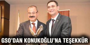 GSO'dan Konukoğlu'na teşekkür