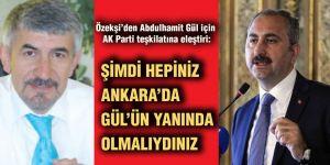 Özekşi'den Abdulhamit Gül için AK Parti teşkilatına eleştiri:
