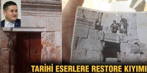 Tarihi eserlere restore kıyımı