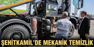 Şehitkamil'de mekanik temizlik dönemi