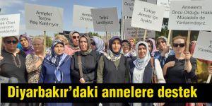 Diyarbakır'daki annelere destek
