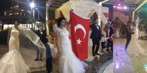 Fırat gazisine düğün sürprizi