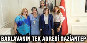Baklavanın tek adresi Gaziantep