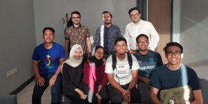 Malezyalı öğrenciler Kalyoncu'da