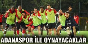 Adanaspor ile oynayacaklar