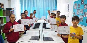 Erdem okulları Avrupa Kod haftasında