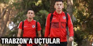 Trabzon'a uçtular