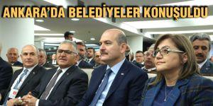 Ankara'da belediyeler konuşuldu