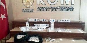 Gaziantep'te kaçak 520 paket sigara ele geçirildi
