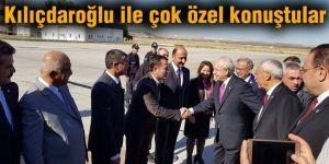 Kılıçdaroğlu ile çok özel konuştular