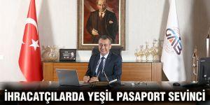 İhracatçılarda yeşil pasaport sevinci