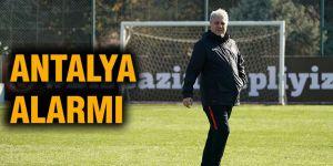 Antalya alarmı