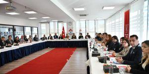 Bahçeşehir Koleji yöneticileri Gaziantep'te buluştu
