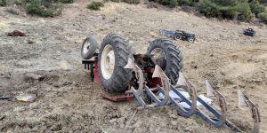 Genç çiftçi traktör kurbanı