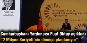 Cumhurbaşkanı Yardımcısı Fuat Oktay açıkladı