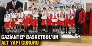 Gaziantep Basketbol'un alt yapı gururu
