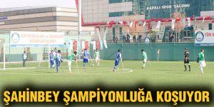 Şahinbey şampiyonluğa koşuyor 4 – 0