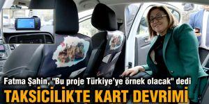 """Fatma Şahin, """"Bu proje Türkiye'ye örnek olacak"""" dedi"""