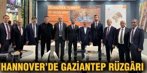 Hannover'de Gaziantep rüzgârı