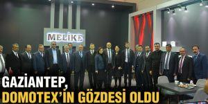 Gaziantep, Domotex'in gözdesi oldu