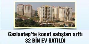 Gaziantep'te konut satışları arttı