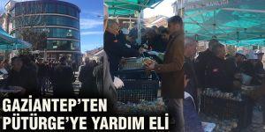 Gaziantep'ten Pütürge'ye yardım eli