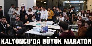 Kalyoncu'da büyük maraton